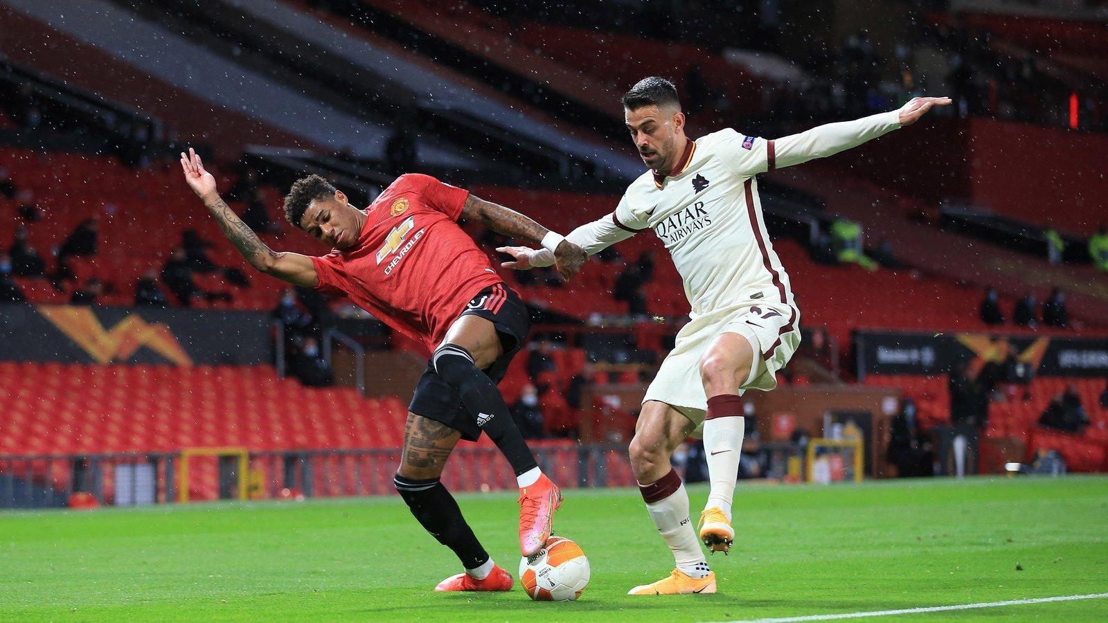 AS Roma đã thất bại thảm hại 2-6 trước Man Utd