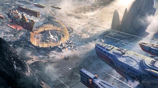 Ark of War: Galaxy Pirate Fleet  captures d'u00e9cran 8
