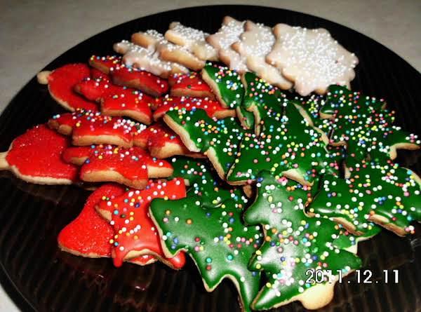 Painted Sugar Cookies Recipe
