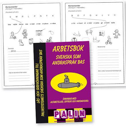 Svenska som andraspråk Bas, Arbetsbok - 7762-135-5