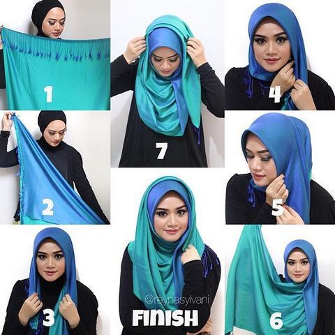 Download Tutorial Hijab Segi Empat Android App Updated 2021