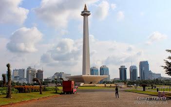 Photo: Indonesian National Monument, Jakarta, Java, Indonesia