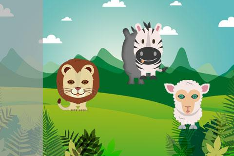 Jungle Farm Animals Puzzle