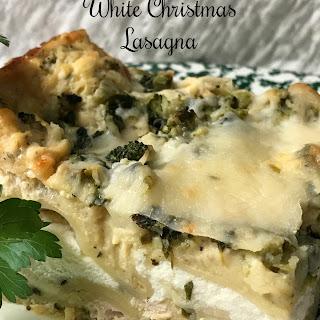 White Christmas Lasagna.