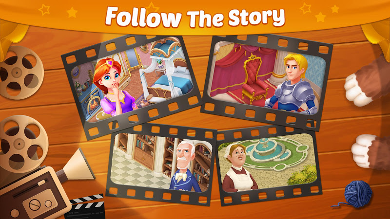 Castle Story: Puzzle & Choice Screenshot 2