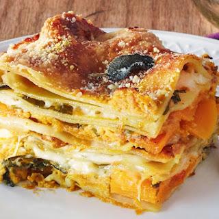 How To Make Vegetarian Thanksgiving Lasagna.