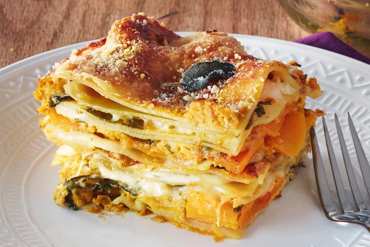 How to Make Vegetarian Thanksgiving Lasagna Recipe