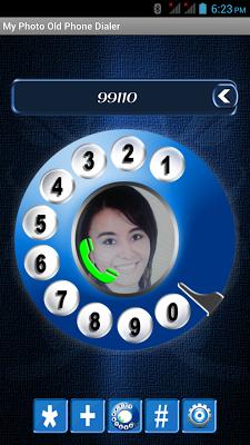 My Photo Old Phone Dialer - screenshot