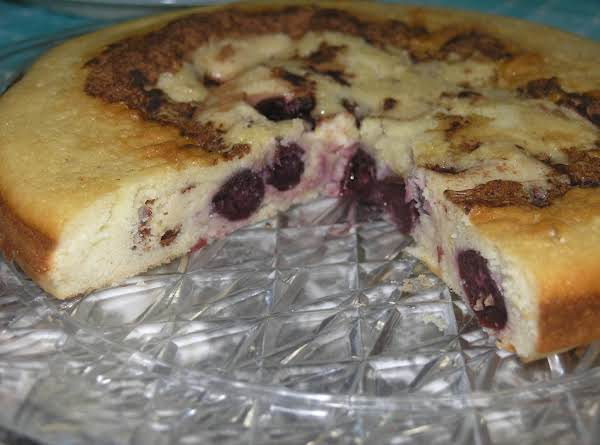 Cherry Cheese Coffee Cake Recipe