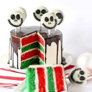 Jack Skellington Layer Cake