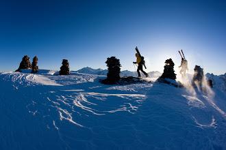Photo: Skitourengänger am Wassertalkogel, Geigenkamm, Ötztaler Alpen, Tirol, Österreich