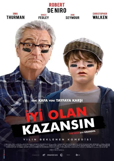 İyi Olan Kazansın - The War With Grandpa (2021)