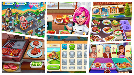 Télécharger Burger Cooking Simulator - Jeu de chef cuisinier APK MOD 1