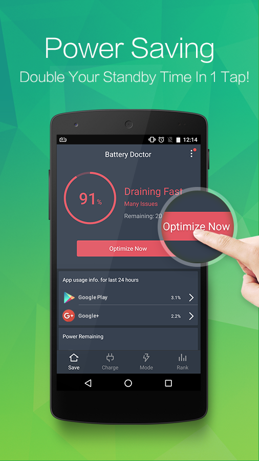 Screenshots of Battery Doctor (Battery Saver) for Android