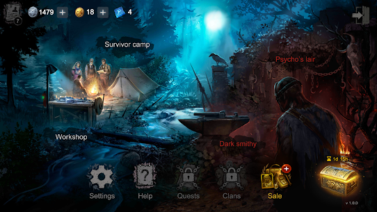 Horrorfield Mod Apk 1.2.11 [Map Hack/Freeze + Full Unlocked] 7