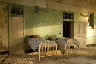 Photo: Patient dormitory at Buffalo State Hospital.