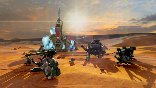 Tortue de guerre 2 - Clicker de tir APK MOD (Astuce) screenshots 2