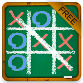 Chalk Tic Tac Toe Free - Play TicTacToe for free!