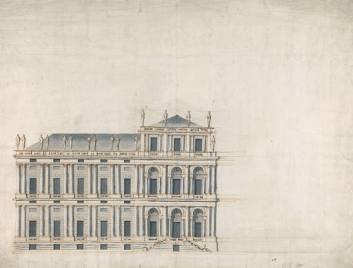 Whitehall Palace, London: Elevation of Proposed Design
