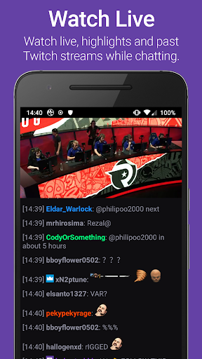 mChatty for Twitch App Report on Mobile Action - App Store