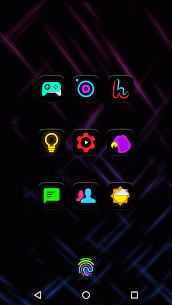 Neon Glow – Icon Pack v8.2.0 4