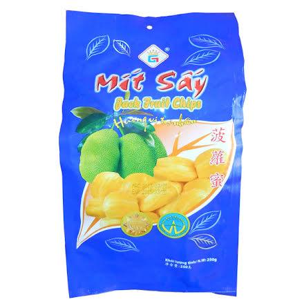 Jackfruit Chips Mit Say 250g Gia Thanh