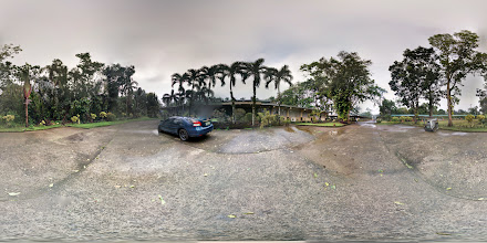 Photo: Photosphere in front of Tropicana Hostel inside Cavite State University - Indang Campus