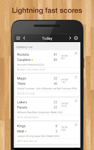 App NBA Basketball Live Scores APK for Windows Phone