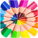 Kids Books Color And Drawing icon