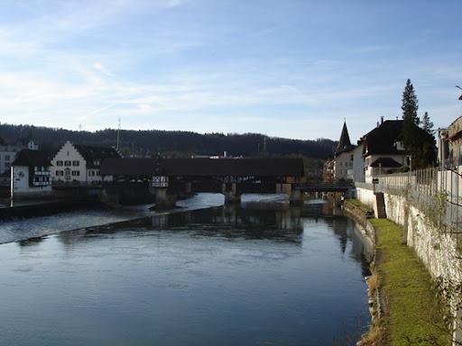 Holzbrücke Bremgarten