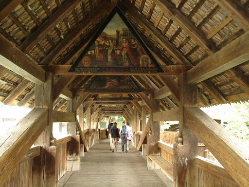 painting Spreuer Bridge