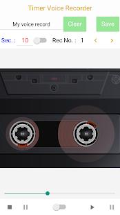 Timer Voice Recorder (Paid) Screenshot