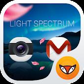 Light Spectrum-Launcher Theme