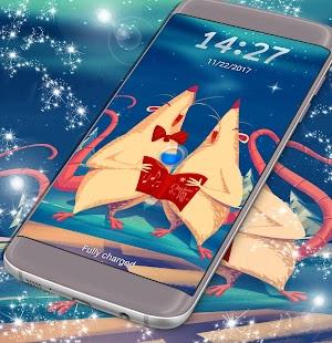 Vánoční zámek obrazovky - náhled