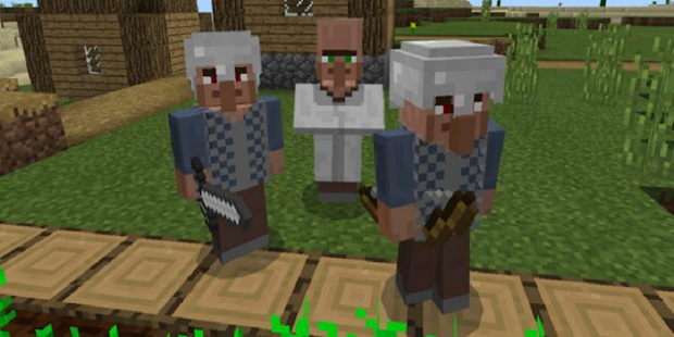 Mod Village Guards Pro for MCPE - náhled