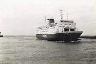 "Photo: ""Cote d'Azur"" in Calais June 23, 1982 (Photo: A.M.S. Russell)"