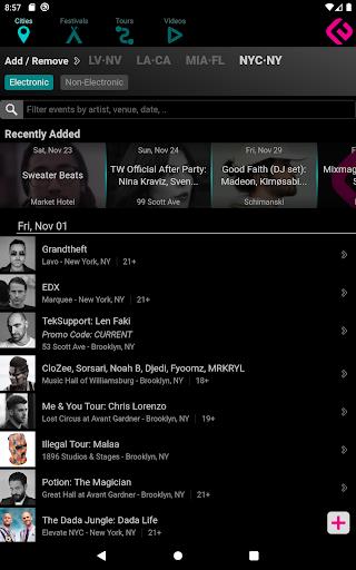 Edmtrain Concerts 2.2 Screenshots 8