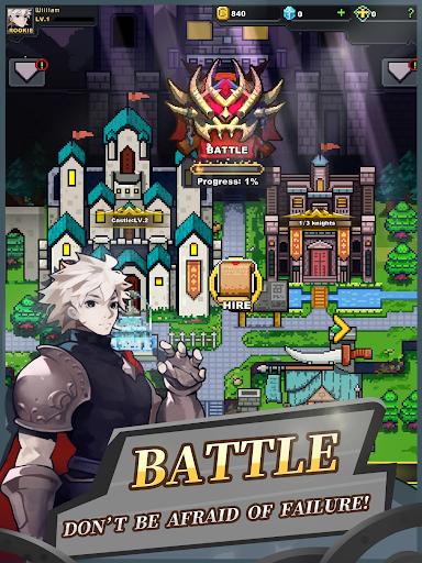 Infinite Knights - Turn-Based RPG apktram screenshots 9
