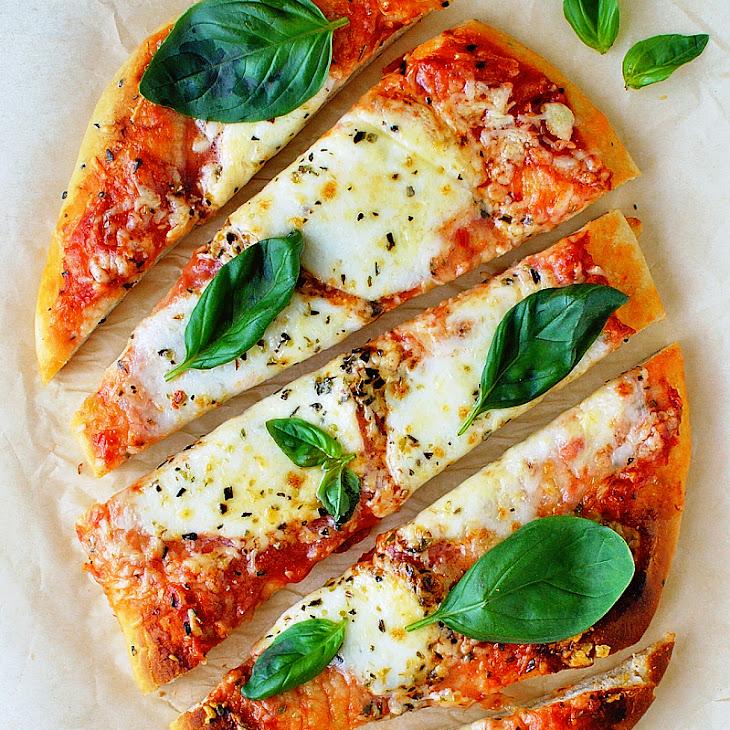 Ten Minute Naan Pizza
