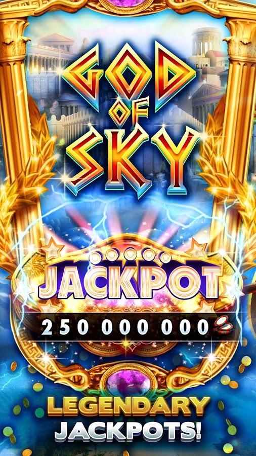 huuuge casino god of sky