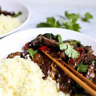Whole30 Thai Basil Beef.