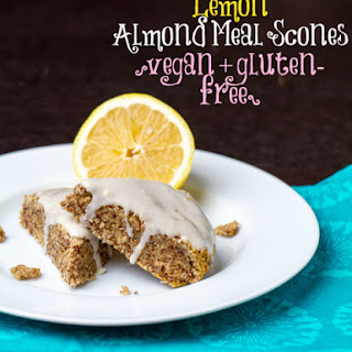 Lemond Almond Meal Scones.