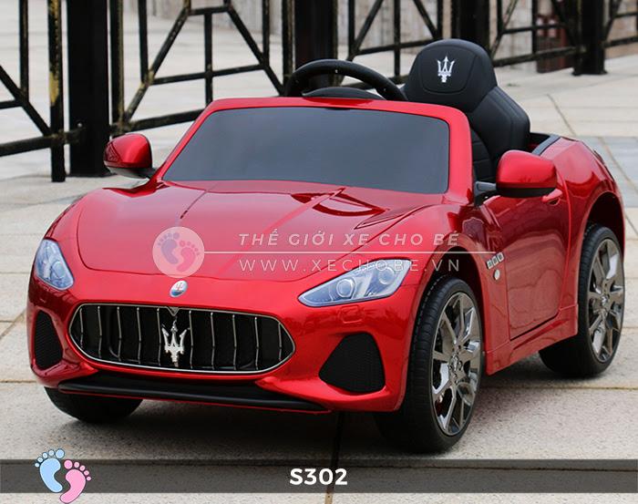 Ô tô cho trẻ em cao cấp Maserati S-302 17