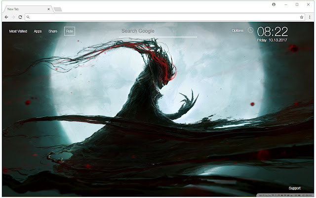 Demon Wallpaper Demons New Tab Themes