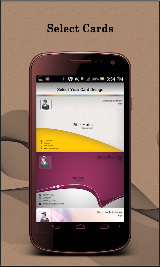 VCard - Android Apps on Google Play