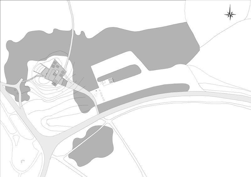 Photo: Posbank Pavilion - Site Plan