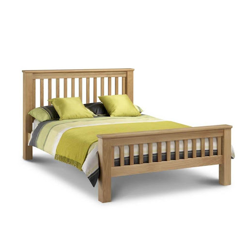 Julian Bowen Amsterdam High Foot End Bed Frame