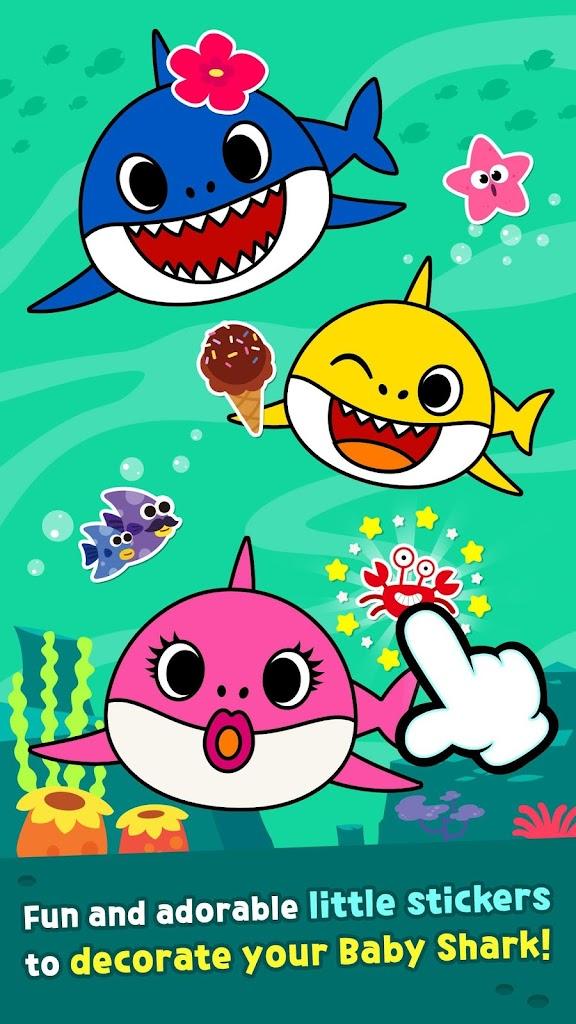Pinkfong Baby Shark Coloring Book APK Baixar para Android ...