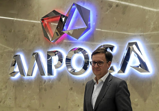 Russian polish: The head of sales at Russian diamond producer Alrosa, Evgeny Agureev, says the company will sell its own coloured diamonds to boost revenue. Picture: REUTERS