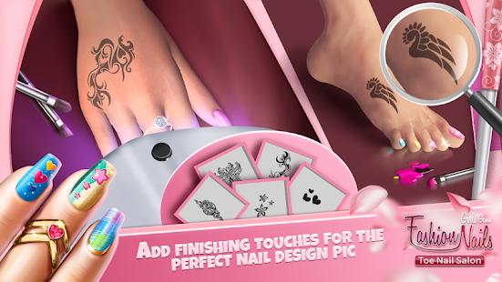 Fashion Nails Girls Game Toe Nail Salon App Report On Mobile